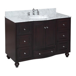 Kitchen Bath Collection - Palazzo 48-in Bath Vanity ...