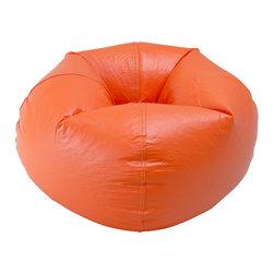 Ace Bayou - Ace Bayou Orange Matte Bean Bag - Orange Matte Bean Bag by Ace Bayou.