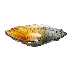 Duo Art Glass Plate - Duo Art Glass Plate