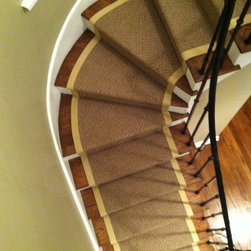 Wide Binding Sisal Runners - Custom Stair Runners, Co