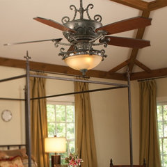 mediterranean ceiling fans by Carolina Lighting Gallery