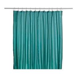 Emma Jones - SALTGRUND Shower curtain - Shower curtain, green-blue