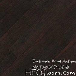 Earthwerks Wood Antique Beveled Edge Plank - Earthwerks Wood Antique, NWT0405CD-BE. Available at HFOfloors.com.
