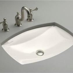 KOHLER - KOHLER K-2382-96 Kelston Undercounter Bathroom Sink - KOHLER K-2382-96 Kelston Undercounter Bathroom Sink in Biscuit