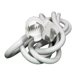 "5-Wire 120-volt 5/8"" x 6' Power Cord (5 pack) - 6' Power cord (5 pack) Requires 5-Wire 5/8"" Power Connectors (not included) Use with 5/8"" 5-Wire Rope Lights"