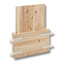 Cabinet Accessories - Mount this cutting board on the inside of a cabinet door for easy storage.