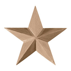 "Ekena Millwork - 2 3/4""W x 2 3/4""H x 1/2""P Galveston Star Rosette, Rubberwood - 2 3/4""W x 2 3/4""H x 1/2""P Galveston Star Rosette, Rubberwood. Our rosettes are the perfect accent pieces to cabinetry, furniture, fireplace mantels, ceilings, and more. Each pattern is carefully crafted after traditional and historical designs. Each piece comes factory primed and ready for your paint. They can install simply with traditional adhesives and finishing nails."