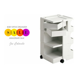 Office Furniture: Joe Colombo Boby Office Organizer - Stardust Modern Design is having its Anniversary Sale and is offering its practical Boby Office Organizer on Sale with Free Shipping. Stardust.com® has the best desk organizers you need for home office or business. FREE delivery on all orders with no minimum required. http://www.stardust.com/SEARCH.html?q=boby+office+organizer