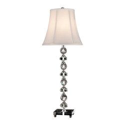 Dale Tiffany - New Dale Tiffany 1-Light Lamp Chrome Iron - Product Details