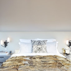 Transitional Bedroom by Tamara Magel Studio