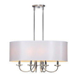 Ren Wil - Ren Wil LPC077 Lux 6 Light 1 Tier Chandelier - Features: