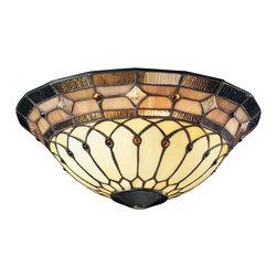 Kichler - Kichler 340001 Tiffany Universal Bowl Glass - Kichler 340001 Tiffany Universal Bowl Glass