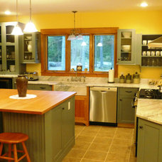 Traditional Kitchen by Sawyer Cabinetry