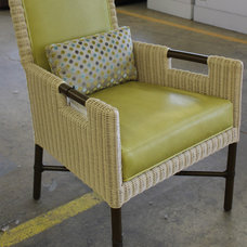 Traditional Living Room Chairs by McGuire Furniture Company