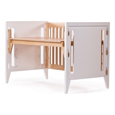 Crib - P. Pod Desk - P. Pod Companion Crib - Desk Conversion
