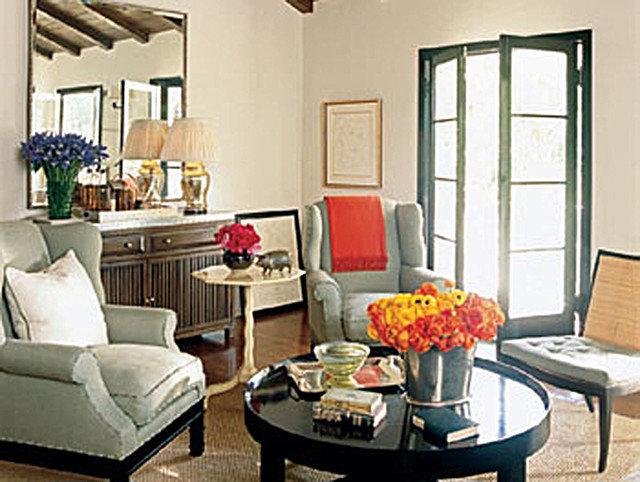 Eclectic Dining Room by Brett Valenstein