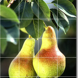 Picture-Tiles, LLC - Fruits Vegetables Photo Kitchen Tile Mural 23 - * MURAL SIZE: 48x32 inch tile mural using (24) 8x8 ceramic tiles-satin finish.
