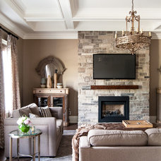 Traditional Family Room by Biondi Decor