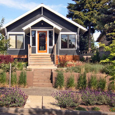 Contemporary Porch by The Watershed Company
