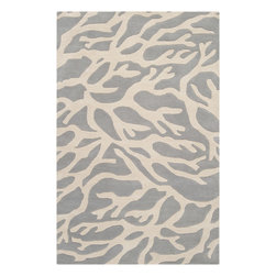 Surya - Hand-Tufted Escape Wool Rug - The Escape collection by Somerset Bay for Surya includes sophisticated rugs in beautiful coastal-inspired palettes. These hand tufted rugs feature patterns of Starfish, Coral, and Whimsical Seaweed. One look at this collection of rugs and you are transported to a calming coastal retreat, bringing to mind that feeling of summers spent in the sun and surf. Whether you are decorating your own coastal cottage, or just want that coastal feel in your home, any rug from this collection will be the perfect choice.