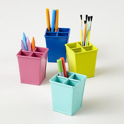 I Could've Bin a Container, Pencil Cup - Whether your child is in elementary school with crayons and pencils or in college with pens and paint, these would be a great addition to any desk space.