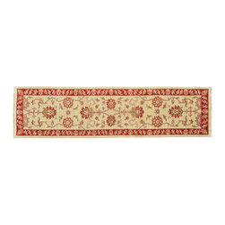 1800-Get-A-Rug - Oushak Oriental Rug Stone Wash Hand Knotted Rug Runner Sh9366 - About Oushak and Ziegler Mahal