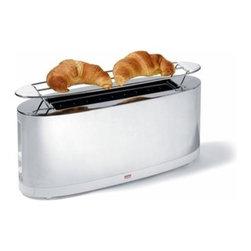 Alessi - Alessi | SG68 Toaster with Bun Warmer - Design by Stefano Giovannoni, 2006.
