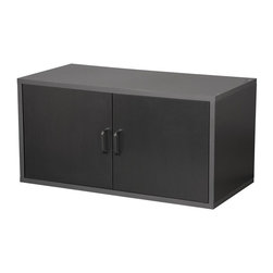 Foremost - Large Storage Cube w 2 Doors (Honey) - Finish: Honey. Stackable. Easy to clean. Made from wood, particle board, MDF and PE veneer. Minimal assembly required. 30 in. W x 15 in. D x 15 in. H (18.9 lbs.)Stack several black cubes together to create a customized storage system for your home or office.