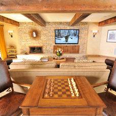 Farmhouse Basement by David Magri, Professional Remodeler