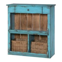Hammary - Hammary Hidden Treasures Blue Console - Blue console belongs to Hidden Treasures collection by Hammary