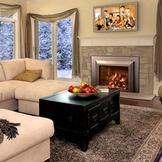 Traditional Indoor Fireplaces by CJ's Home Decor & Fireplaces
