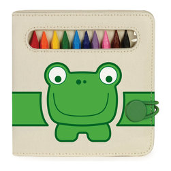 P'kolino - P'kolino Artist Journal, Tias- Frog - For the Little Artist On-the-Go!