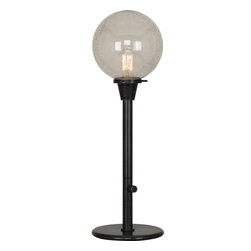 Robert Abbey - Rico Espinet Buster Globe Table Lamp, Bronze/Topaz - -1-100W Max.