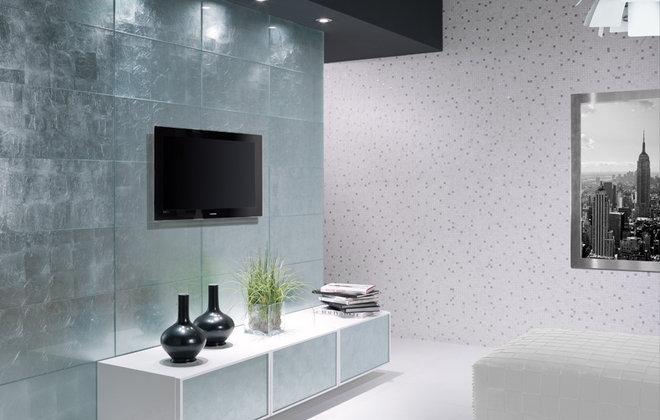 Contemporary Tile Pan de Plata - Dune - 12x24 glass tile