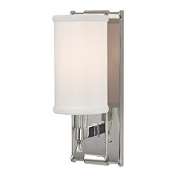 HUDSON VALLEY LIGHTING - Hudson Valley Lighting Palmdale-Wall Sconce, Polished Nickel - Free Shipping