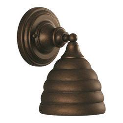 "Toltec - Toltec 40-BRZ-425 Bronze Finish Wall Sconce with 6"" Beehive Metal Shade - Toltec 40-BRZ-425 Bronze Finish Wall Sconce with 6"" Beehive Metal Shade"