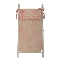 Cotton Tale Designs - Heaven Sent Girl Hamper - A quality baby bedding set is essential in making your nursery warm and inviting. All Cotton Tale patterns are made using quality materials and are uniquely designed to create your perfect nursery. Part of the Heaven Sent Girl collection is the wood white frame hamper. The hamper bag is made in pink and cream floral. Wash bag gentle cycle, separate, cold water. Tumble dry low or hang dry. This collection is perfect for your little girl.