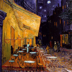 The Café Terrace on the Place du Forum, Arles, at Night, c.1888 -