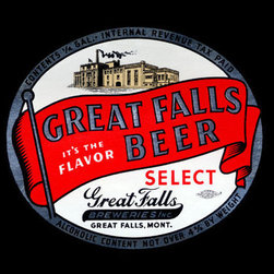 Buyenlarge - Great Falls Beer 28x42 Giclee on Canvas - Series: Beer