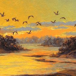 """Canadian Sunset"" by Paul McGehee - © Paul McGehee"