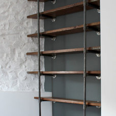 Industrial Bookcases by Inspiritdeco