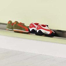 Modern Shoe Storage Horizontal Shoe Rack