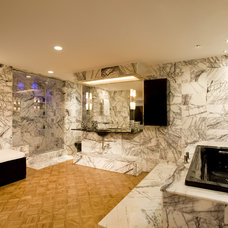 Contemporary Bathroom by Mary Courville Designs