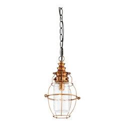 Troy Lighting - Little Harbor 1-Light Outdoor Hanging Lantern - Little Harbor 1-Light Outdoor Hanging Lantern