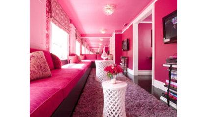 Modern Living Room by Casart Coverings