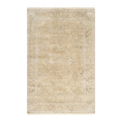 Surya - Surya Transcendent Rug X-32-2009SNT - In the tradition of classic design, Surya brings you the Transcendent collection. The rugs in this collection have a seemingly aged look, to bring a subtle gentility to your space. A neutral color palette combined with a traditional style of design makes the Transcendent collection a wonderful addition to your home. Hand crafted for lasting beauty in India from 100% wool, these ultra soft rugs are the perfect choice.