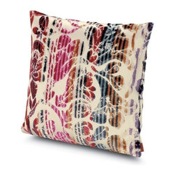 Missoni Home - Missoni Home | Pondicherry Pillow 16x16 - Design by Rosita Missoni.