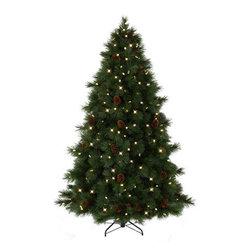 Virginian Pine Christmas Tree - A STATELY HOLIDAY PRESENCE IN TREE CLASSICS' VIRGINIAN PINE CHRISTMAS TREE