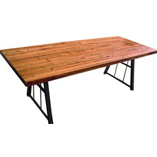 Rustic Dining Tables by Circle Goods Reclaimed