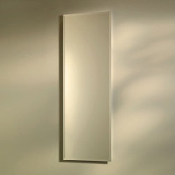 Broan-NuTone - Broan-Nutone Pillar 12W x 36H in. Recessed Beveled Mirror Medicine Cabinet 768M3 - Shop for Bathroom Cabinets from Hayneedle.com! Think you don't have room for a sharp stylish recessed medicine cabinet? You do now! This ultra-thin Broan-Nutone Pillar Recessed Beveled Mirror Medicine Cabinet - 12W x 36H in. allows you to install a super cabinet in the narrowest of spaces. The reversible hinges mean this model could open either way giving you a great-looking glass medicine cabinet even in what you previously thought was a tough spot to fill. Its Polystyrene plastic body is perfect for all the water in the air in most bath or powder rooms. The Beveled edge is a great look.About Broan-NuToneBroan-NuTone has been leading the industry since 1932 in producing innovative ventilation products and built-in convenience products all backed by superior customer service. Today they're headquartered in Hartford Wisconsin employing more than 3200 people in eight countries. They've become North America's largest producer of medicine cabinets ironing centers door chimes and they're the industry leader for range hoods bath and ventilation fans and heater/fan/light combination units. They are proud that more than 80 percent of their products sold in the United States are designed and manufactured in the U.S. with U.S. and imported parts. Broan-NuTone is dedicated to providing revolutionary products to improve the indoor environment of your home in ways that also help preserve the outdoor environment.